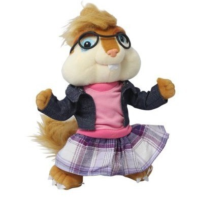Alvin And The Chipmunks 35CM Plush Toy Figure Pets Doll Chipmunks Jeanette<br><br>Aliexpress