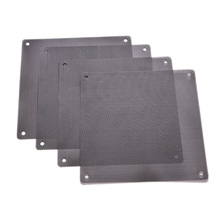 1PC 120x120mm Computer PC Dustproof Cooler Fan Case Cover Dust Filter Cuttable Mesh Fits Standard 120mm Fans + 4 Screws