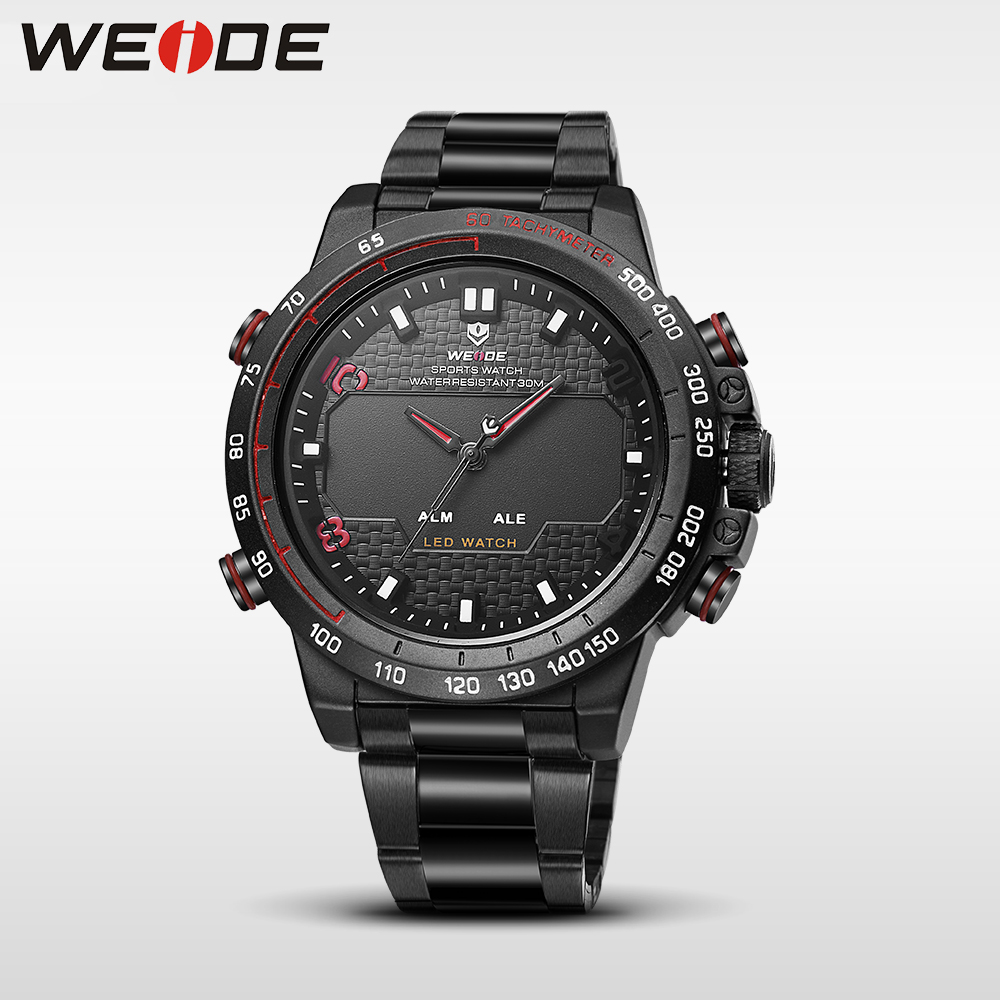 WEIDE genuine steel series watches mens watches brand luxury sport led digital shockproof waterproof watch quartz watch clock<br>