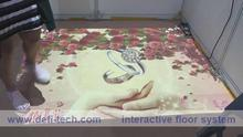 Interactive floor projection system for Advertising/ Advertsing/Exhibition