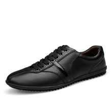 Fashion Men Oxfords Shoes Men Flats Spring Autumn Comfortable Peas Shoes Comfortable Outdoor Party Shoes Hot Sale