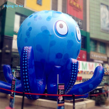 3m/4m New Outdoor Inflatable Octopus for Sea Theme Event Decoration