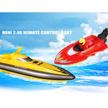 Buy 2.4G 4 CH 958-A Mini RC Boat High Speed Racing RC Boat Toys Cute Remote Control Ship Outdoors Racing Speedboat Toys Kid Gift for $24.81 in AliExpress store