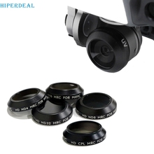 HIPERDEAL Snap On ND Filters Set 5-pack (UV/CPL/ND4/8/16/32) For DJI Mavic Pro RC Drone 0328