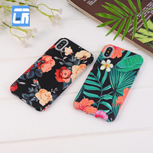 Buy DCR Flower Cartoon Pattern Hard PC Phone Cases iphone 8 plus X Full Cover Phone Bags iPhone 7 6 plus case Funda Shell for $2.39 in AliExpress store