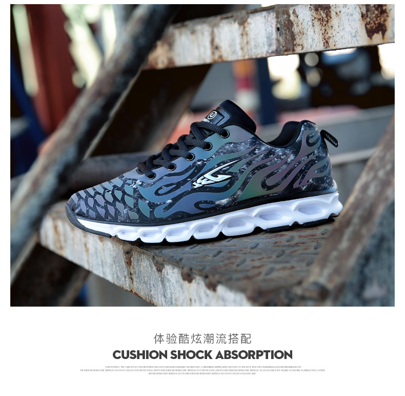 Men's LIGHT Running Shoes Cushioning DMX Sneakers Breathable Athletic Sport Training Shoes Luminous Shoes zapatillas hombre