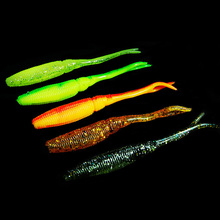 WALK FISH 6PCS/Lot Armor Shad 70mm Fishing Lures Soft Lure Hot Sale Wobblers For Trolling Crankbait Pesca Carp Fishing Shine(China)