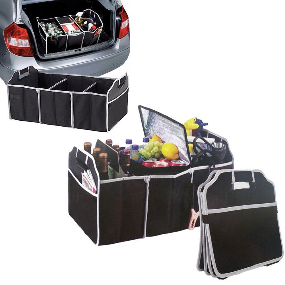 Coche Organizador De Maletero Caja de almacenamiento de arranque de carga de bolsillo plegable caso bolsa plegable H
