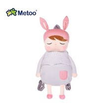 49cm Metoo Bag Grey Dream Rabbit Metoo Angela Bulk of The Small Body Cartoon Children A Small Bag Baby Shoulder Bag Backpack