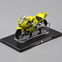 1/18 Scale VALENTINO ROSSI NSR 500 NO.46 test Jerez 2001 Motorcycle Vehicle Model Kids Gift Collection Gifts