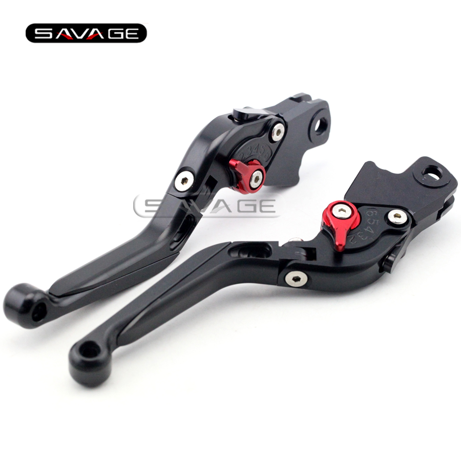 For BMW K1300S K1300R K1300GT K1200R K1200S Black Motorcycle Accessories Adjustable Folding Extendable Brake Clutch Levers<br>