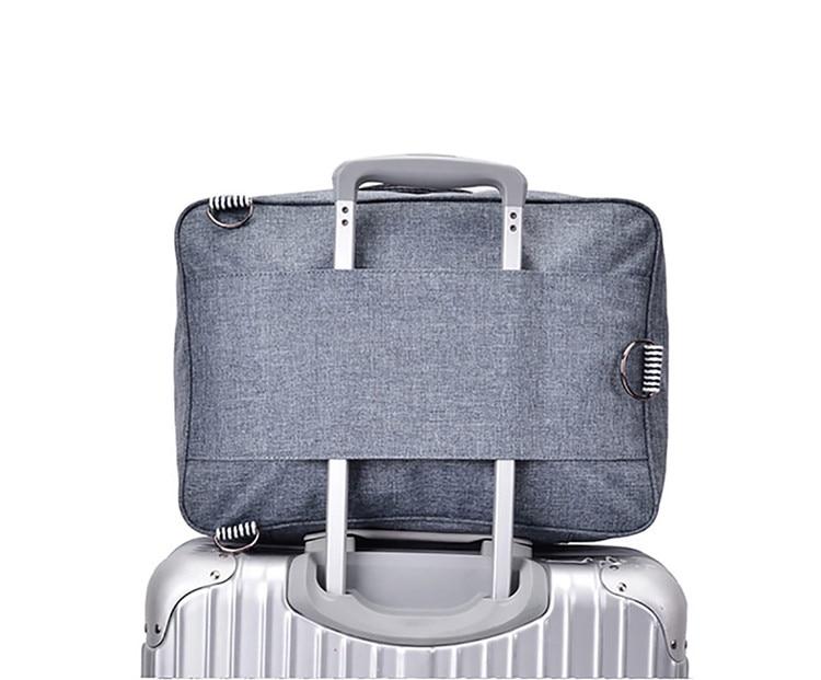 New Fashion Travel Pouch WaterProof Unisex Travel Tas Wanita Bagasi Tas Travel Lipat Tas Gratis Pengiriman