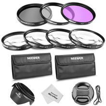 Neewer 58MM Professional Lens Filter and Close-up Macro Accessory Kit for CANON EOS Rebel T5i T4i T3i T3 XSi SL1 DSLR Cameras