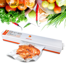 Household Food Vacuum Sealer Machine 110V-220V Film Sealer Food Vacuum Packer Vacuum Packing Machine Including 15 Pcs bags