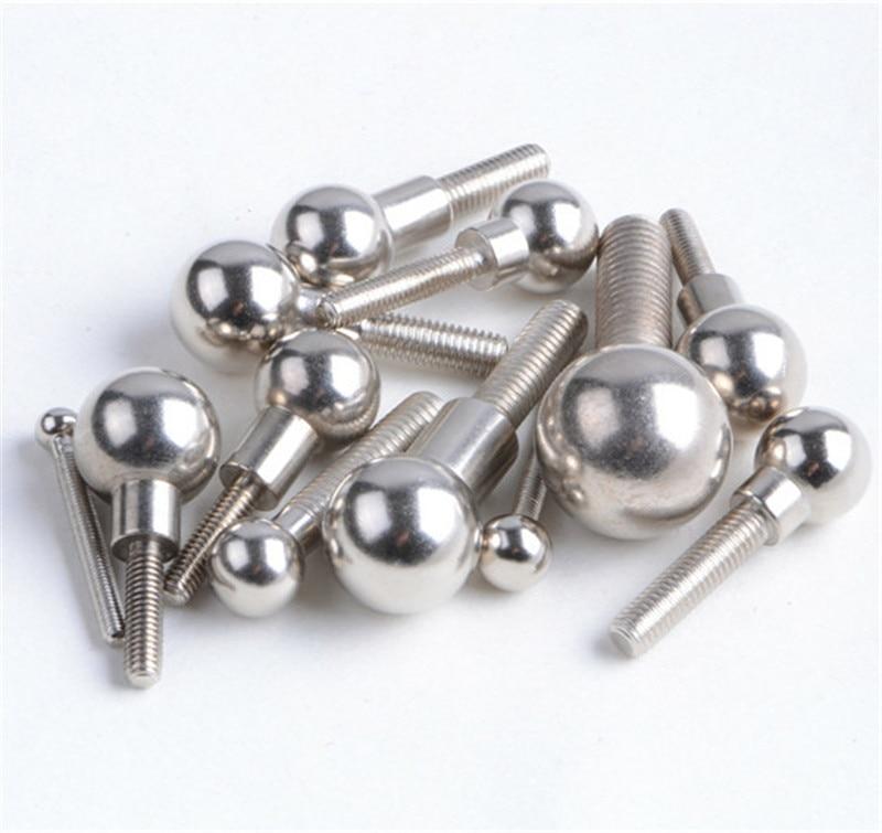 delta Kossel Rostock 5/8/10/12/13/14/15/16/20mm diameter ball screw Steel Threaded Ball Kossel 3D printer accessories parts<br>