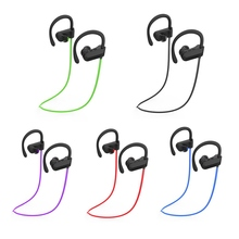 Bluetooth Sport In-hook Earphone Wireless Headset Mini 4.1 High Quality HD For Apple Samsung Mobile Phone(China)