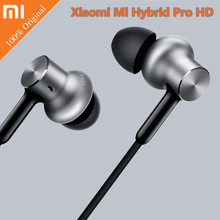 Xiaomi Mi Hybrid Pro HD In-ear Earphones Hybri Wired Volume Control Headset for Xiaomi Mi6 MIX 5C Redmi 4 4X Android Smartphone