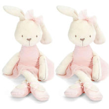 New Baby Stuffed Toys Dolls Cute 42cm Large Soft Stuffed Animal Bunny Rabbit Toy Baby Kid Girl Xmas gifts