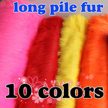 "Long Pile Fur Fabric Faux Fur fabric Costumes Cosplay Photography Backdrops Photo Props 60"" Wide Sold By The Yard Free Shipping"