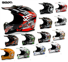 lightweight BEON MX16 motocross helmet , Motorbike Motorcycle helmet,electric bicycle helmets color white black red orange(China)