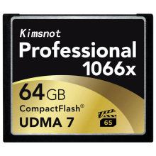 Kimsnot 1066x 64GB CF Card CompactFlash 32GB 128GB 256GB Memory Card Compact Flash UDMA7 160Mb/s(China)