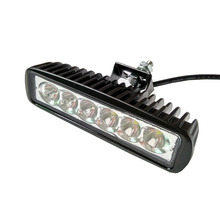 New Sale 18W 6 x 3W 1560lm LED Light Bar Work Light Car Headlight Flood Light / Spot beam Light for Boating / Hunting / Fishing