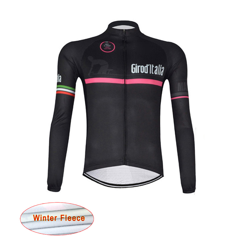 ropa ciclismo 2016 winter men cycling jersey bike clothing Tour de Italy thermal fleece jerseys mtb bicycle classic jersey L1303<br><br>Aliexpress