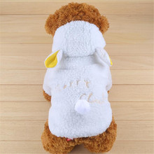 Buy Dog Clothes Coat White Sheep Clothes Dogs Puppy Outfit Hoodie Chihuahua Clothing Winter Warm Apparel Dog Costume Supply 8S40 for $5.38 in AliExpress store
