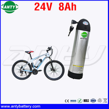 eBike Battery 24v 8Ah 350w Water Bottle Style Electric Bicycle Battery 24V with 2A Charger Built in 15A BMS Free Shipping