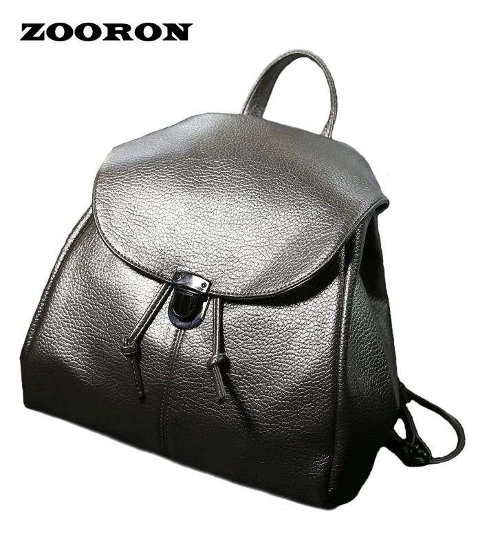 Trend 2017 new Simple Korean Leather Mini Backpack Drawstring Backpack 4-color fashionable Bags postposition zippered bag<br><br>Aliexpress