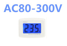 by dhl/fedex 100pcs/lot Voltmeter Plug  Voltage Meter Electrical Instruments DM55-1 AC 80-300V LCD Digital Electric Pen Testers