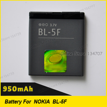 BL-5F Battery / BL 5F li-ion rechargeable Battery for 6290/E65/N93i/6210/N96/6210S/6710N/N95 Mobile Phone