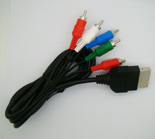 Free Shipping Component RCA AV Audio Video Cable for Xbox