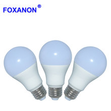 Foxanon E27 2835 LED Bubble Ball Led Bulb Lamp 15w11w9w5w Light 100v-240v A60 A80 Lampada Ampoule Bombilla Lighting For home EMC(China)