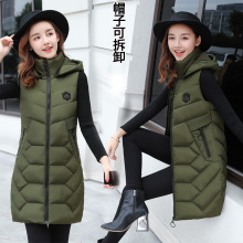 싼 wholesale 2018 새 autumn winter 핫 잘 팔리는 women's fashion casual 암 nice warm Vest 겉 옷 G170(China)