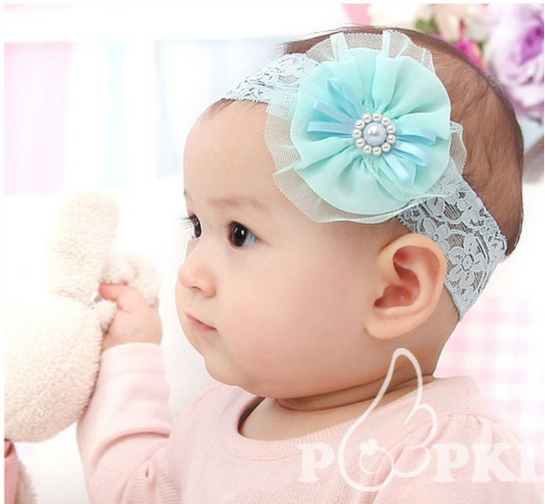 Wholesale / Retail Kids Girl's Headband Headwear,Girls Topknot Hair Accessories Hair Band Hair Jewelry A123(China)