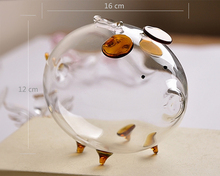 New Hot Sell Piggy Bank Design Glass Money Box Vase Bottle Terrarium Container for DIY Home Wedding Decoration Favor Xmax Gift(China)
