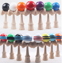 Via Fedex/EMS/DHL, Professional Kendama Ball for sale Japanese  Wood Game Kids Toy PU Paint & Beech Good Quality, 200PCS
