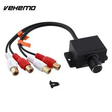 Vehemo Automobile Home Amplifier Bass RCA Gain Level Remote Volume Control Knob LC-1(China)