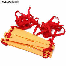 2016 Brand New Agility Speed Sport Training Ladder 8M Soccer Fitness Bboxing 21-rung With Bag Equipment Tools