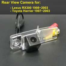Car Rear View Camera for Lexus RX300 for Toyota Harrier 1997 1998 1999 2000 2001 2002 2003 Wireless Reversing Parking Camera(China)