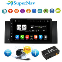 "9"" Touch screen Car Navigation system Android 6.0.1 fit for BMW E39 E53 X5 M5 with 8 Core Bluetooth Wifi  DAB+ Radio GPS Navi"