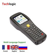 Wireless Barcode Scanner Handheld Terminal PDA for Supermarket and Warehouse Laser Bar Code gun Inventory Barcode Scanner