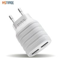 HSTRAOE 5V2.1A universal USB charger rechargeable portable adapter plug wall EU  smart phone charger for iPhone pill