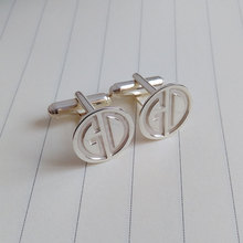 Engraved Cuff links-Personalized Sterling Silver Cuff Links-Cuff Links FOR Men-Wedding gifts