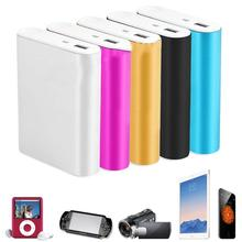New Portable DC5.1V 2.1A USB 4x18650 Power Bank Box Case Kit Battery Charger DIY LED Universal For Smart Phone MP4