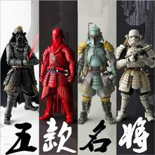 6 Patterns High quality Large Size 19cm Star Wars Figure toys Darth Vader Stormtrooper Bob The Red Guards PVC Collectible Toy