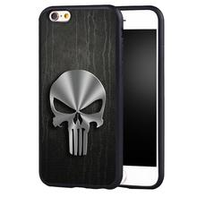 The Punisher Skull Logo  Cover case for iPhone 5c 5 5s se 6 6plus 6s 7 7plus