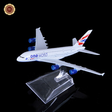 United Kingdom Commercial 747 Model Airplane Airways Plane Model W Stand christmas decorations for home