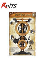 RealTS Academy 18150 Leonardo Da Vinci Machines Series Clock Education Model Kit